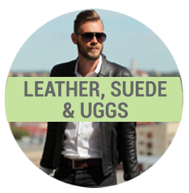 Leather dry cleaning