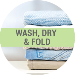 wash dry fold dry cleaning