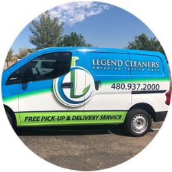 Free pick up and delivery dry cleaning